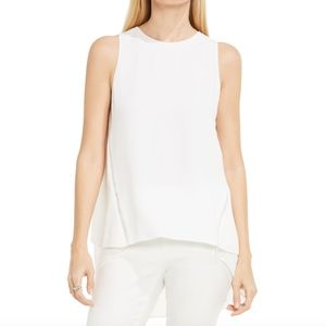 Vince Camuto High Low Blouse